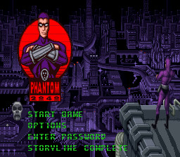 Phantom 2040 (USA) (Beta) Title Screen
