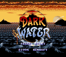 Pirates of Dark Water, The (Europe) Title Screen