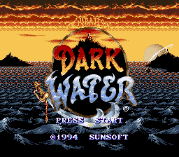 Pirates of Dark Water, The (USA) Title Screen