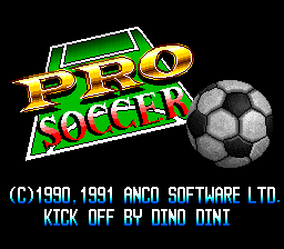 Pro Soccer (Japan) Title Screen