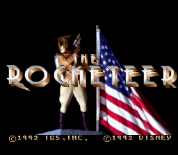 Rocketeer, The (USA) Title Screen