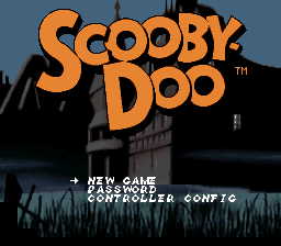 Scooby-Doo Mystery (USA) Title Screen