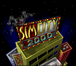 SimCity 2000 (Europe) Title Screen