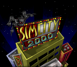 SimCity 2000 (Japan) Title Screen