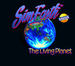 SimEarth - The Living Planet (USA) Title Screen