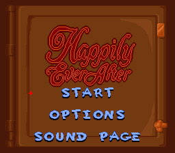 Snow White in Happily Ever After (USA) Title Screen