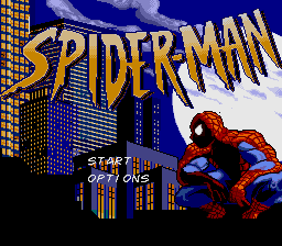 Spider-Man (USA) (Beta) Title Screen