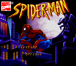 Spider-Man (USA) Title Screen