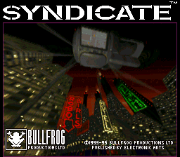 Syndicate (Japan) Title Screen