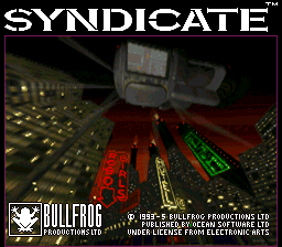 Syndicate (USA) Title Screen