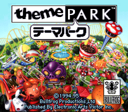 Theme Park (Japan) Title Screen