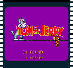 Tom & Jerry (USA) Title Screen