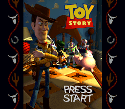 Toy Story (USA) Title Screen