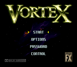 Vortex (USA) (En,Es) Title Screen