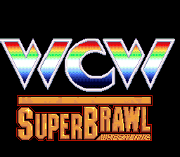 WCW Super Brawl Wrestling (USA) Title Screen