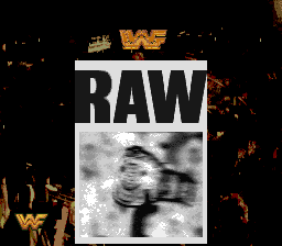 WWF Raw (Europe) Title Screen