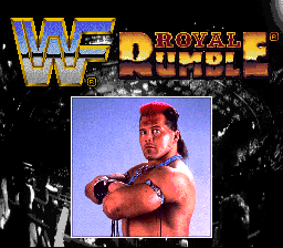 WWF Royal Rumble (Europe) Title Screen