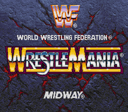 WWF WrestleMania (Europe) Title Screen