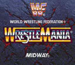 WWF WrestleMania (USA) Title Screen