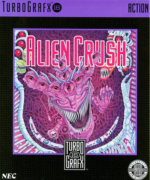 Alien Crush (USA) Box Scan