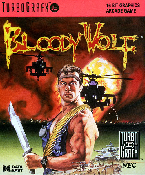 Bloody Wolf (USA) Box Scan