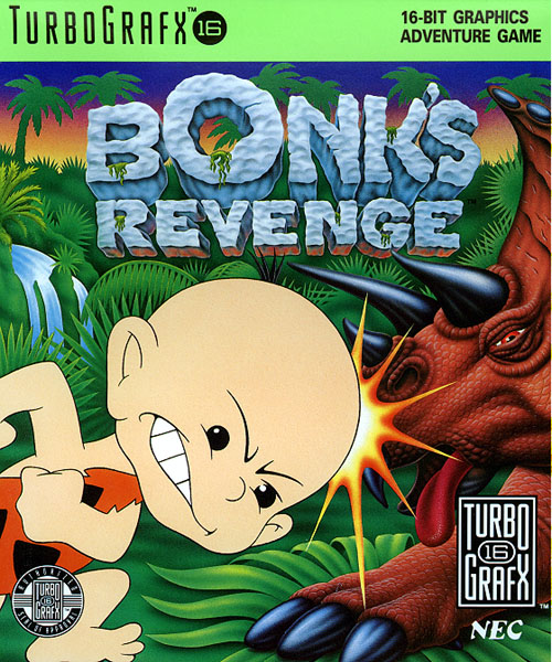 Bonk's Revenge (USA) Box Scan