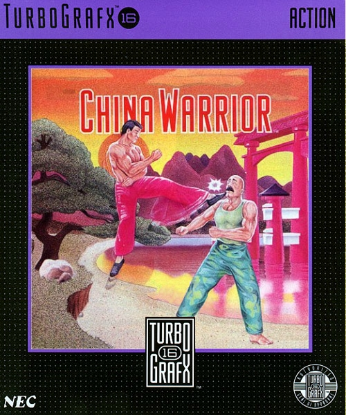 China Warrior (USA) Box Scan