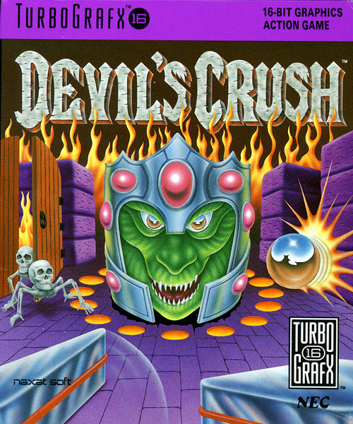 Devil's Crush - Naxat Pinball (USA) Box Scan
