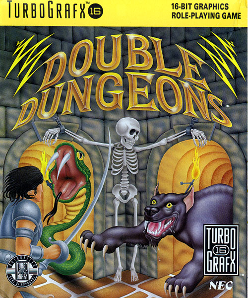 Double Dungeons - W (USA) Box Scan