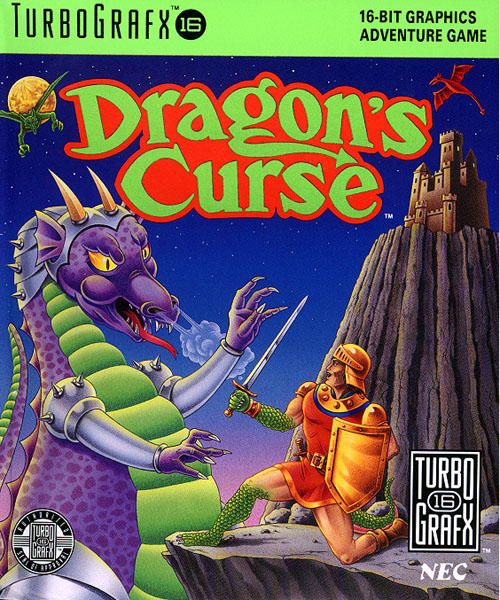 Dragon's Curse (USA) Box Scan