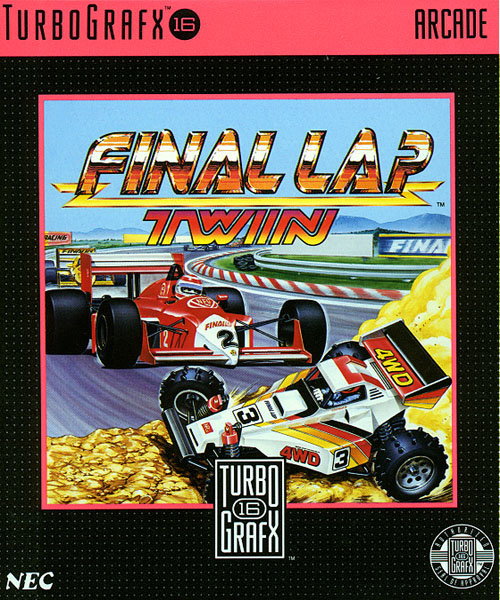 Final Lap Twin (USA) Box Scan