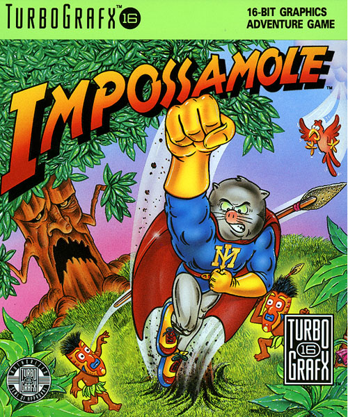 Impossamole (USA) Box Scan