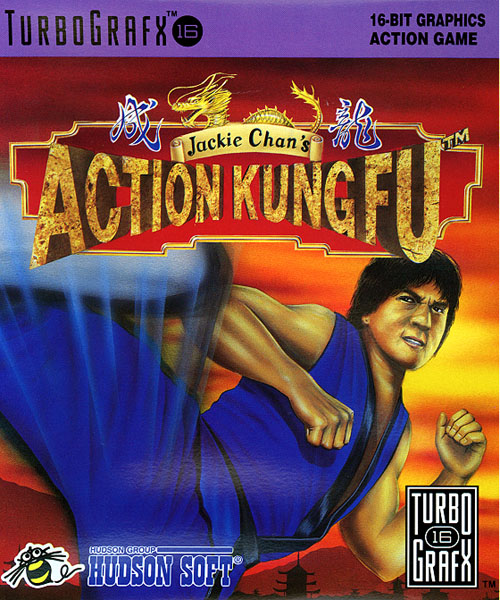 Jackie Chan's Action Kung Fu (USA) Box Scan