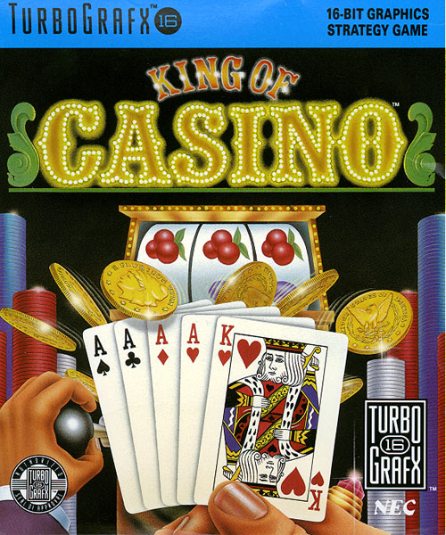 King of Casino (USA) Box Scan