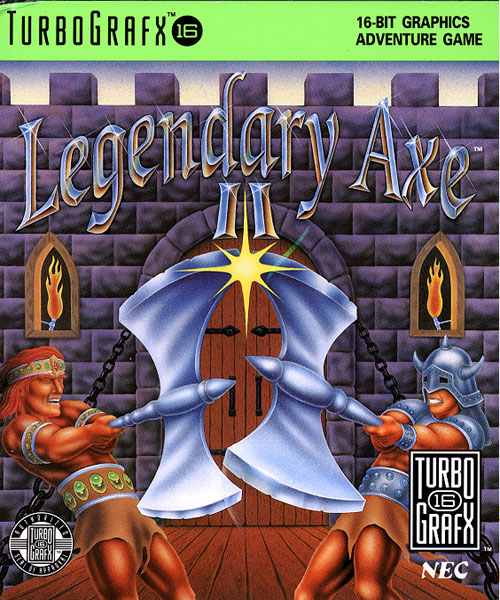 Legendary Axe II, The (USA) Box Scan