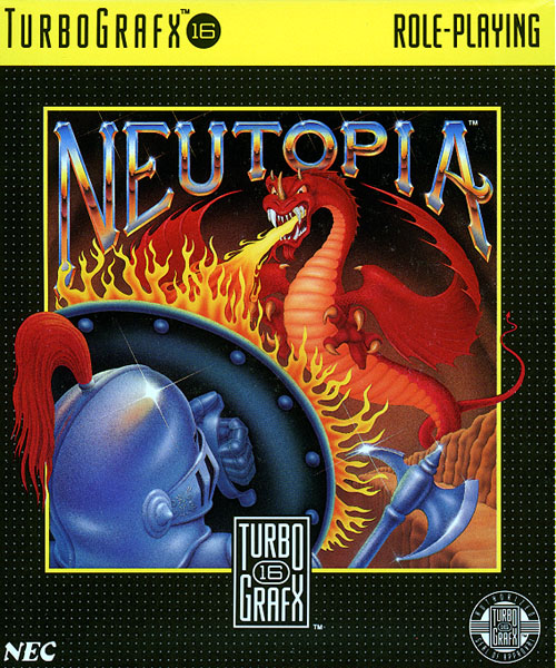 Neutopia (USA) Box Scan