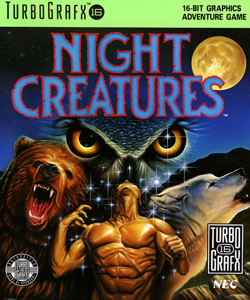 Night Creatures (USA) Box Scan