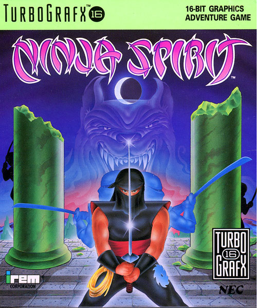 Ninja Spirit (USA) Box Scan