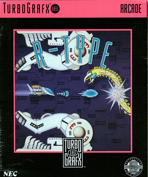 R-Type (USA) Box Scan
