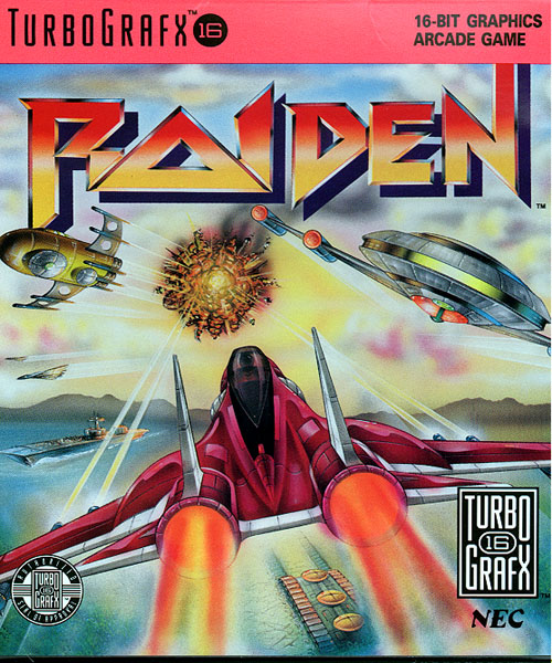 Raiden (USA) Box Scan