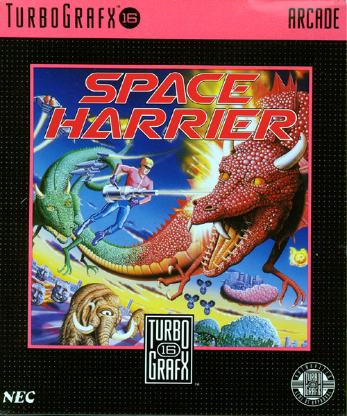 Space Harrier (USA) Box Scan