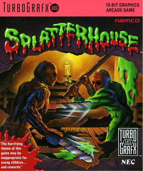 Splatterhouse (USA) Box Scan
