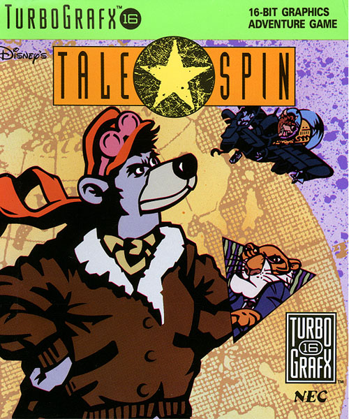 TaleSpin (USA) Box Scan