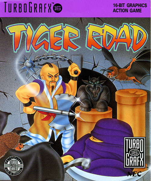 Tiger Road (USA) Box Scan