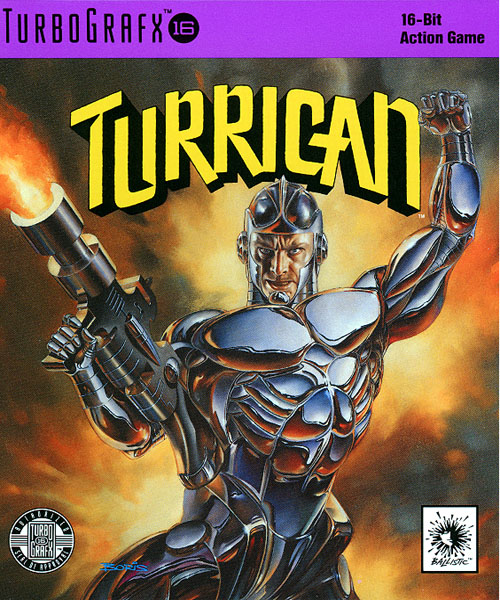 Turrican (USA) Box Scan