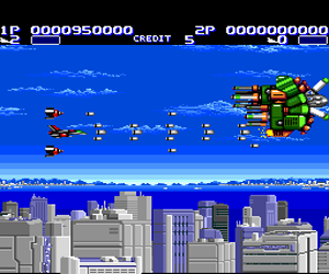 Aero Blasters (USA) Screenshot 1