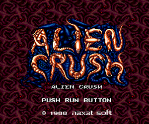 Alien Crush (Japan) Screenshot