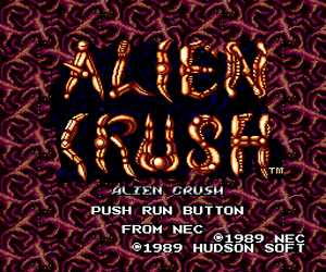 Alien Crush (USA) Screenshot