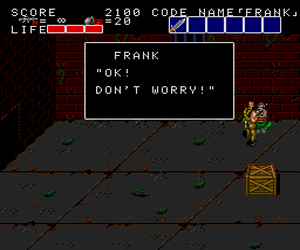 Bloody Wolf (USA) Screenshot 1