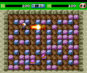 Bomberman '93 (USA) Screenshot 1